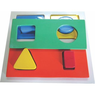 Learners Play Shape Sorter