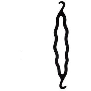HomeoCulture Pack of 5 Twist Holder Clip Magic Roll Bun Hair Twist Braid Tool