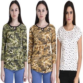 Fashion Shoppe Multicolor Printed  Top