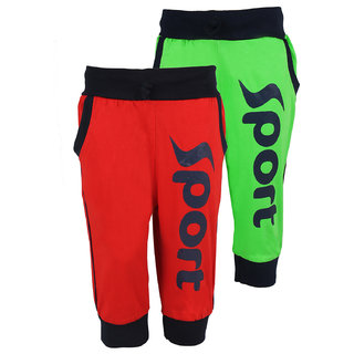 WEECARE SPORTY RIB LEGGING(100 COTTON)(PACK OF 2)(6-9 YRS)