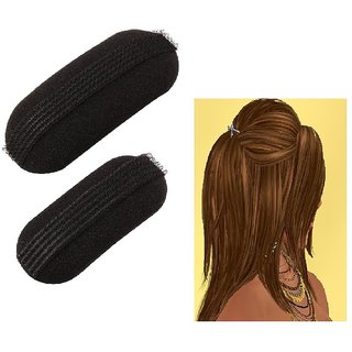 Homeoculture 2 Pcs Hair Clip Puff Bun CR-90