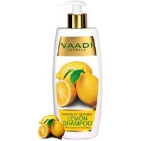 Vaadi Herbals Dandruff Defense LEMON SHAMPOO with extract of Tea Tree (350 ml)