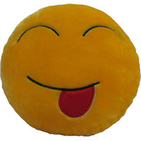 Tickles - Tongue Out smiley Cushion Pillow