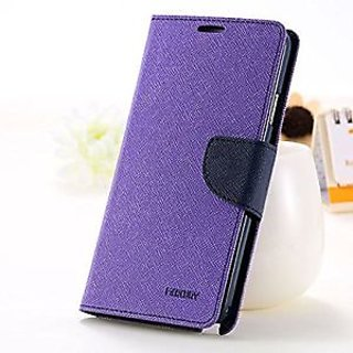 MERCURY FLIP COVER CASE FOR SAMSUNG GALAXY J1 - Purple