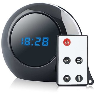 Spy Table Clock Camera Hd Rd Black In Bangalore