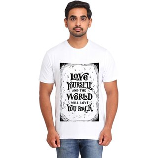 Snoby LOVE YOURSELF print t-shirt (SBY16985)