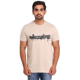 Snoby UNASHAMED YOUTH print t-shirt (SBY17010)
