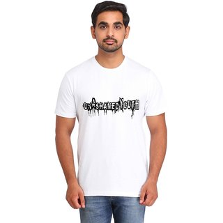 Snoby UNASHAMED YOUTH print t-shirt (SBY17013)