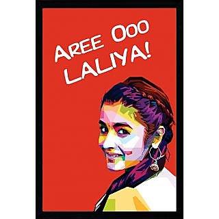 Alia Bhatt Poster Art