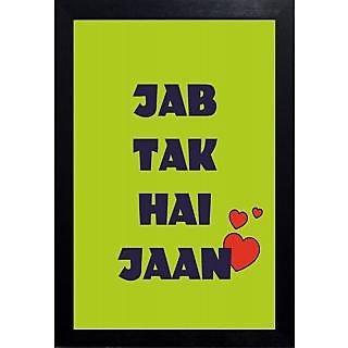 Jab Tak Hai Jaan Poster Art