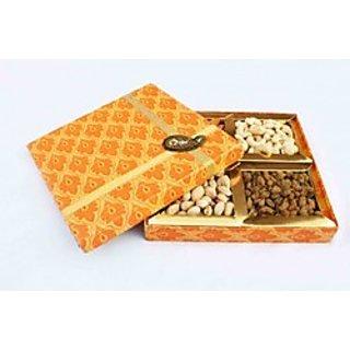 Kundan designer dry fruit box
