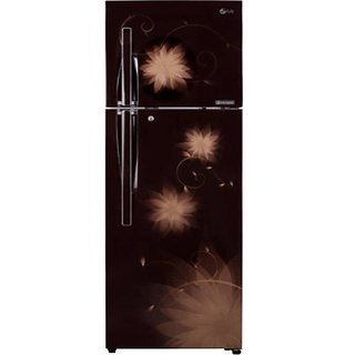 LG 284 L Double Door Refrigerator (Hazel Spring) - GL-T302RHSM