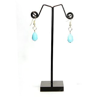 Fancy Jewels-Blue Sea Coloured Small Earrings