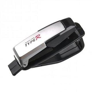 Type - R Car Vehicle Sun Visor Card Pen Portable Clip Storage