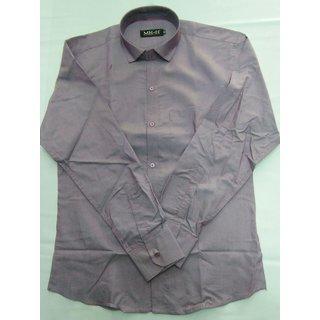Sai Enterprises Gray Button Down Full sleeves Shirt For Men
