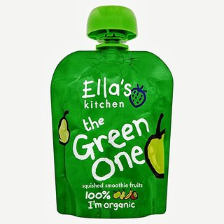 Ella's Kitchen The Green One - 90G (Squished Smoothie Fruits)