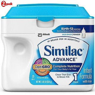 Similac Advance Infant Formula (0-12m) - 658G (US) (Pack of 2)