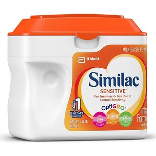 Similac Sensitive Infant Formula (0-12m) - 638G (US)