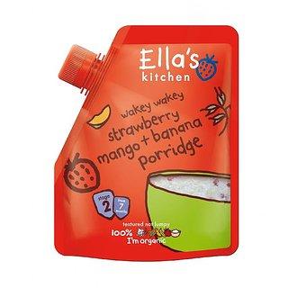 Ella's Kitchen Strawberry, Mango & Banana  Porridge (7m+) - 150G