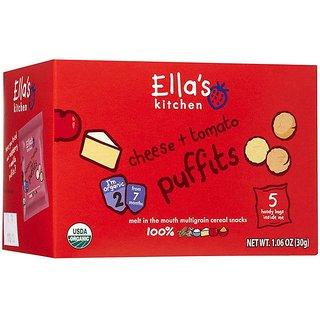 Ella's Kitchen Cheese & Tomato Puffits (7m+) - 30G
