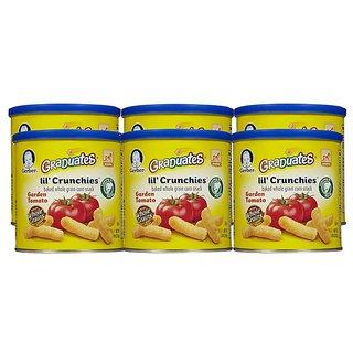 Gerber Graduates Lil' Crunchies 42G (1.48oz) - Garden Tomato (Pack of 6)