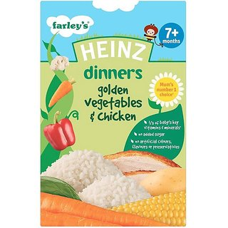 Heinz Golden Vegetables & Chicken Dinners (7m+) - 100G