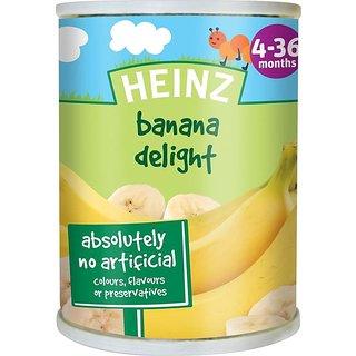 Heinz Banana Delight (4-36m) - 128G