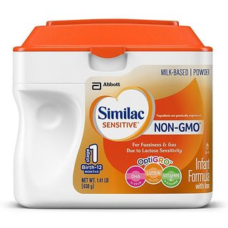 Similac Sensitive Non-Gmo Infant Formula With Iron Stage 1 (0-12m) - 638G (US)