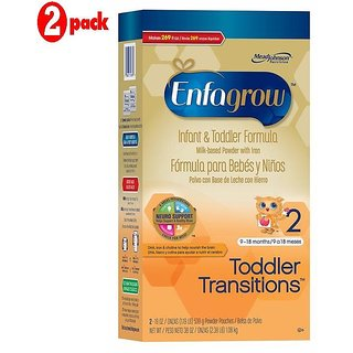 Enfagrow Toddler Transitions 2 Infant & Toddler Formula - 1.08Kg (Pack of 2)