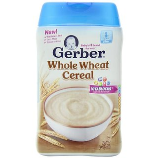 Gerber Whole Wheat Cereal - 227G (8oz)