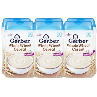 Gerber Whole Wheat Cereal - 227G (8oz) (Pack of 6)