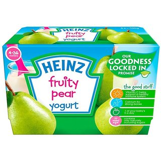 Heinz Fruity Pear Yogurt 4Pk (4-36m) - 400G