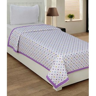 Home Luxurious Exclusive Floral Print Single Bed Sheet