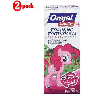 Orajel Training Toothpaste 42.5G - My Little Pony (Pack of 2)
