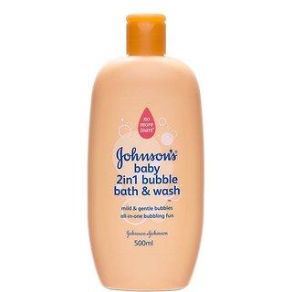 Johnsons Baby 2In1 BuBBle Bath & Wash - 500ml