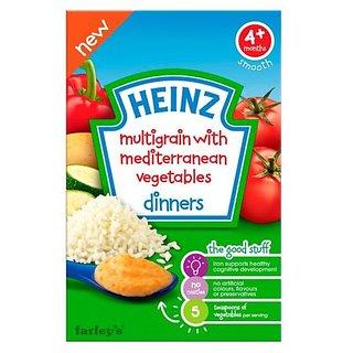Heinz Multigrain With Mediterranean Vegetables (4m+) - 125G
