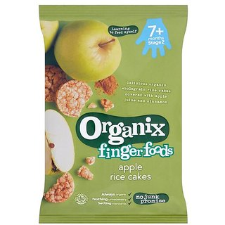 Organix Finger Foods 50G (7m+) - Apple Rice Cakes