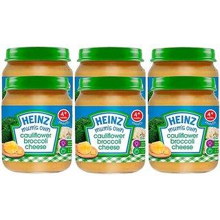 Heinz Mums Own Cauliflower Broccoli Cheese (4m+) - 120G (Pack of 6)