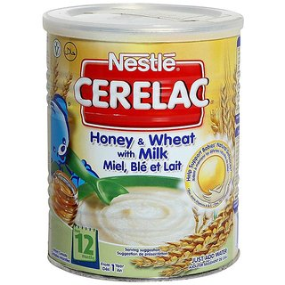 Nestle Cerelac Honey & Wheat With Milk - 1Kg (Imported)
