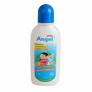Stony Angel Bottle & Nipple Liquid Cleanser - 500ml