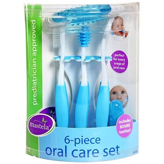 Carters 6-Piece Oral Care Set - 04500