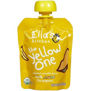 Ella's Kitchen The Yellow One - 90G (Squished Smoothie Fruits)