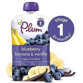 Plum Blueberry Banana & Vanilla (4m+) - 100G