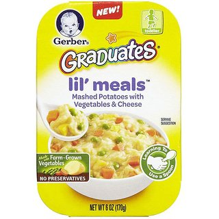 Gerber Graduates Lil' Meals 170G (6oz) - Mashed Potatoes With Vegetables & Cheese