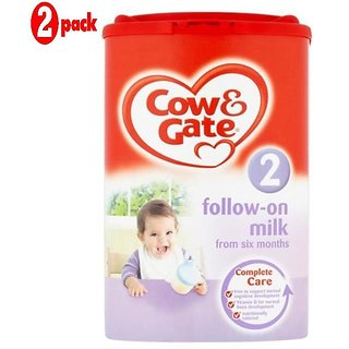 Cow & Gate 2 Follow-On Milk (6m+) - 900G (Pack of 2)