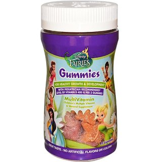 Dinsey Multi-Vitamin Gummies 60Pc - Fairies