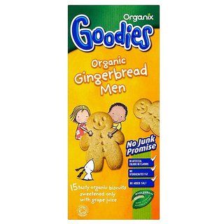 Organix Goodies Organic Gingerbread Men (12m+) - 135G