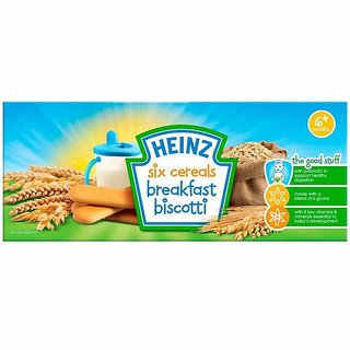 Heinz Six Cereals Breakfast Biscotti (6m+) - 160G