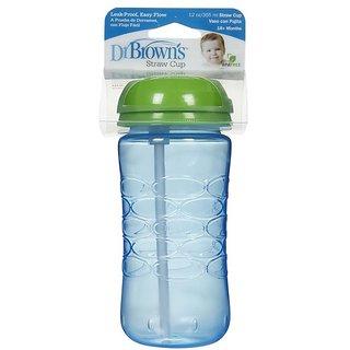 Dr Browns Straw Cup (18m+) - 355ml (12oz) (Blue)