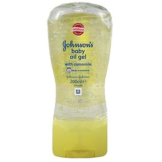 Johnsons Baby Oil Gel With Camomile - 200ml